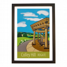 Colley Hill - black frame