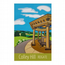 Colley Hill - unframed