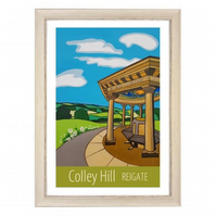 Colley Hill - white frame