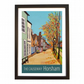 Horsham travel poster print by Susie West