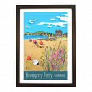 Broughty Ferry, Dundee - black frame