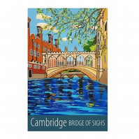 Cambridge, Bridge of Sighs - unframed