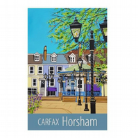 Horsham Carfax - unframed