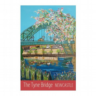 Newcastle Tyne Bridge - unframed
