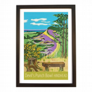 Devil's Punch Bowl - black frame