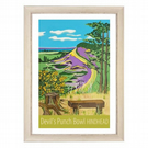 Devil's Punch Bowl - white frame