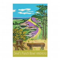 Devil's Punch Bowl - unframed