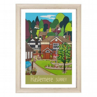 Haslemere, Surrey - White frame