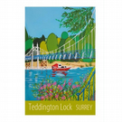 Teddington Lock - unframed