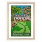 Esher Green - white frame