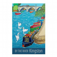 Kingston by the river - unframed