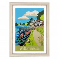 Walton On Thames - white frame