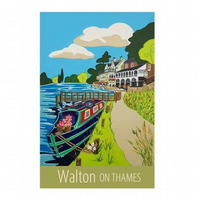 Walton On Thames - unframed