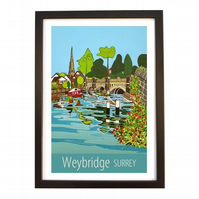 Weybridge - black frame