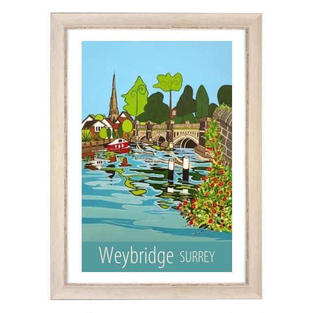 Weybridge - white frame