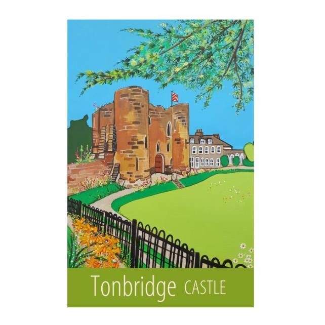 Tonbridge Castle - unframed