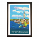 Portsmouth - black frame