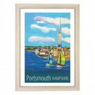 Portsmouth - white frame