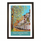Royal Tunbridge Wells - black frame