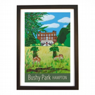 Bushy Park - black frame