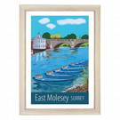 East Molesey - white frame