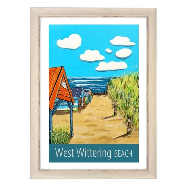 West Wittering - white frame