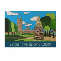Victoria Tower Gardens - Unframed
