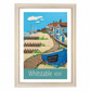 Whitstable travel poster print by Susie West