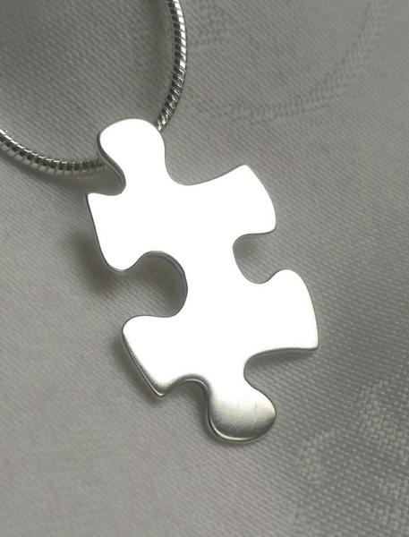 The Missing Piece pendant