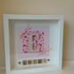 Scrabble art personalised