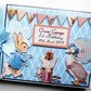 Personalised Peter Rabbit Birthday,  Baby Shower Guest Book