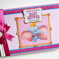 Personalised Dumbo Birthday Guest Book