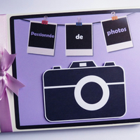 Personalised Picture Perfect Birthday Guest Book