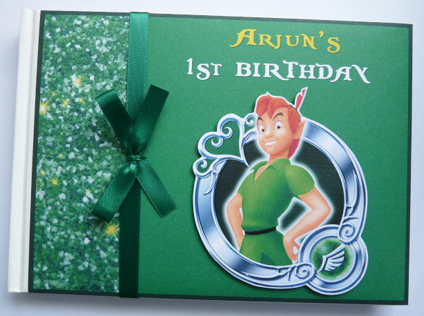 Personalised Peter Pan Birthday Guest Book