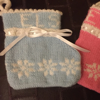 Baby boy Christmas stocking