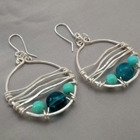 By the Sea Hoop Earrings