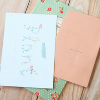 Plant Everything You Want writing paper & envelopes letter set