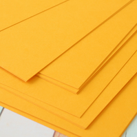 Tangerine Orange cardstock 260gsm 95lbs cover A4 size