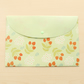 Green Sweet Flowers Envelope File Bag