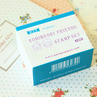 Forever Friends Pappappiyo DIY stamps set