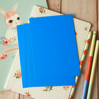 Medium Blue postcard blanks
