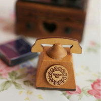 Mercerie de France Telephone Rubber Stamp
