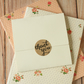 Ivory Magnolia NO Glue CD sleeve envelopes