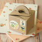 Plain Kraft Brown Square Favour boxes