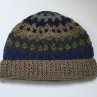 Twilight Sky Hand Knitted hat