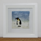 Penguin Felt Painting