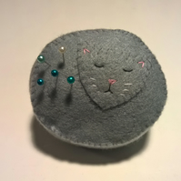 Cat Pin Cushion