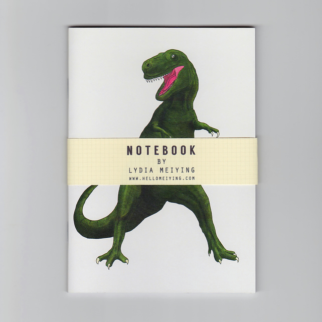A6 Mini Notebook - T Rex