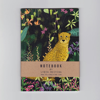 A6 Mini Notebook - Jungle Cheetah