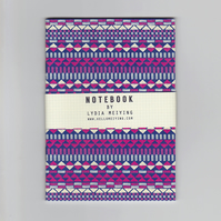 A6 Mini Notebook - Aztec